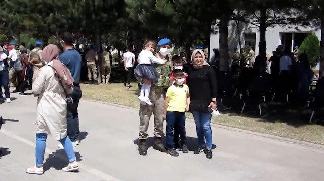 Kahraman komandolarımız Bingöl'den Zeytin Dalı Harekat bölgesine dualarla uğurlandı