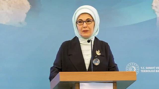 Emine Erdoğan: Tabiatı korumak için seferberlik duygusuyla çalışmalıyız