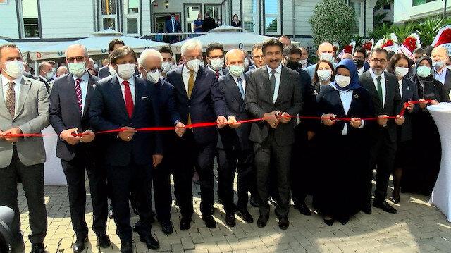 İstanbul 2 Nolu Barosu'nun Üsküdar'daki merkez yerleşkesi törenle açıldı