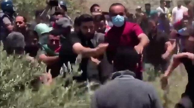 İşgalci İsrail askerleri Batı Şeria'da 20 Filistinli göstericiyi yaraladı
