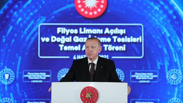 Cumhurbaşkanı Erdoğan büyük müjdeyi açıkladı: Amasra-1 kuyusunda 135 milyar metreküp doğal gaz keşfedildi