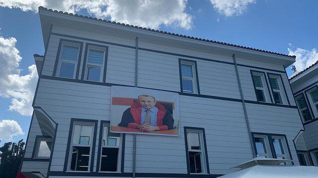 İkinci Baro binasına Şehit Savcı Kiraz'ın posteri asıldı