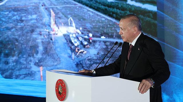 Cumhurbaşkanı Erdoğan'ın katılımıyla doğal gaz işleme tesislerinin temeli atıldı