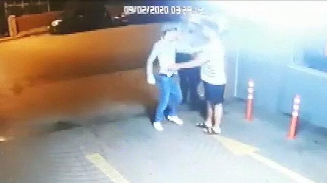 Kadıköy'de polisin bıçaklandığı olayın görüntüleri ortaya çıktı