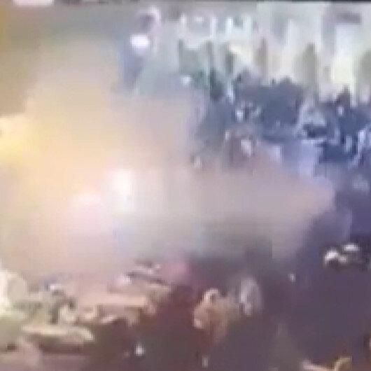 Irakın başkenti Bağdatta şiddetli patlama: 4 ölü, 20 yaralı