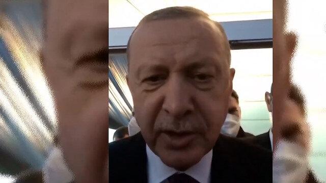 Cumhurbaşkanı Erdoğan'dan serebral palsi hastası Merve'ye video mesaj