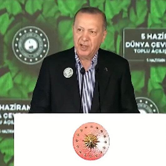 Cumhurbaşkanı Erdoğan: Edirneden bisiklete binen bir vatandaşımız Hakkariye kadar güvenli ve kolay bir şekilde gidebilecek