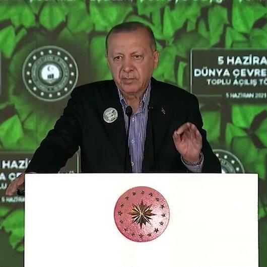 Cumhurbaşkanı Erdoğan: İBB niye yapmıyor, İzmir niye yapmıyor demeyeceğiz, müsilaj belasından denizlerimizi kurtaracağız