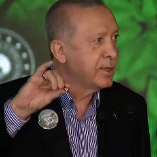 Cumhurbaşkanı Erdoğan ile Samsun Valisi arasında gülümseten doğal makas diyaloğu