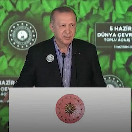 Cumhurbaşkanı Erdoğan: Yaşadığı çevreye saygısı ve üretimiyle değer katan insan, hayatını nerede sürdürürse sürdürsün medenidir