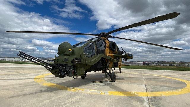 Bir T-129 ATAK helikopteri daha Kara Kuvvetleri envanterine alındı