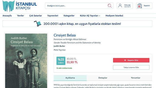 İstanbul Kitapçısı'nda LGBT yayını