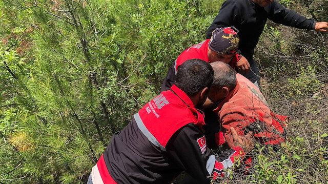 Sakarya'da yakınları kayıp ihbarı yaptı: 85 yaşındaki adam bir gün sonra ormanda bulundu