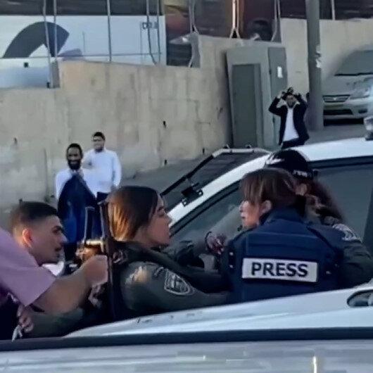 İşgalci İsrail güçleri Al-Jazeera muhabirine saldırdı