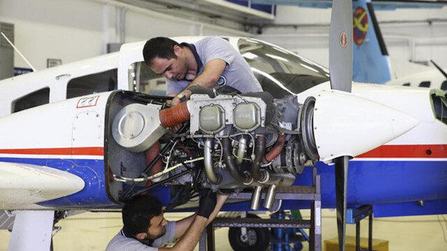 Uçak ve helikopter bakımlarını Türkiye'de yapacak