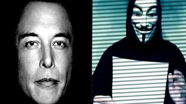 Ünlü hacker grubu Anonymous Elon Musk'ı tehdit etti: Bizi bekle şımarık milyarder