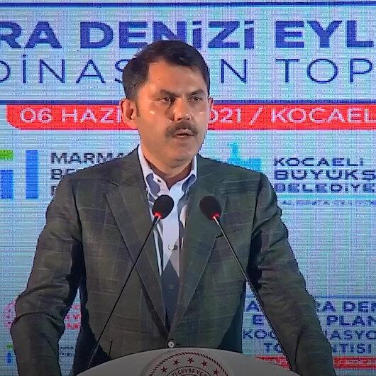 Çevre ve Şehircilik Bakanı Murat Kurum: Marmara Denizimizi tertemiz hale getirmek ve gelecek nesillere aktarmak hepimizin üzerinde bir vazifedir