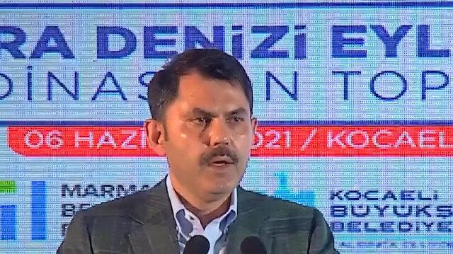 Çevre ve Şehircilik Bakanı Murat Kurum: Marmara Denizi'mizi tertemiz hale getirmek ve gelecek nesillere aktarmak hepimizin üzerinde bir vazifedir