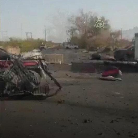 Libyada bombalı araçla intihar saldırısı: 2 güvenlik görevlisi hayatını kaybetti