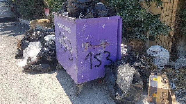 CHP'li Çeşme Belediyesi'nde çöpler günlerdir toplanmıyor