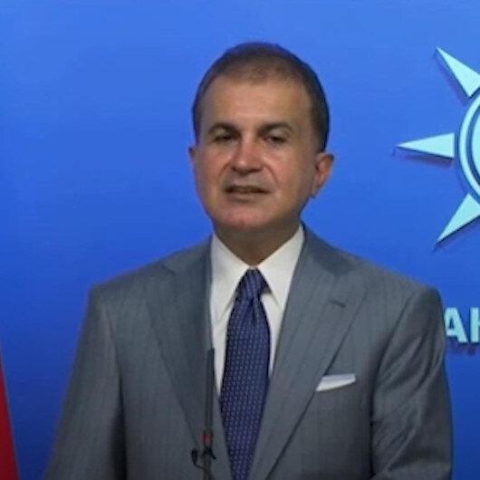 AK Parti Sözcüsü Ömer Çelik: Devlet katildir diyen birinin Türkiye Cumhuriyeti Devletinin kurumlarından biri olan TBMMde ne işi var