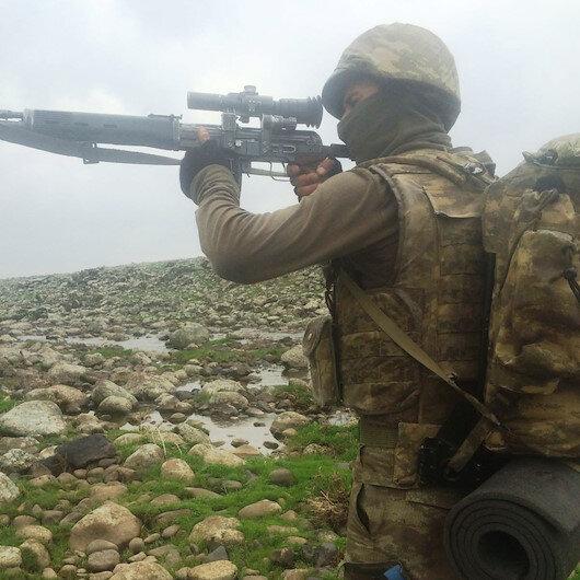 Cudi Dağı Tuşimiya bölgesinde bir terörist etkisiz hale getirildi