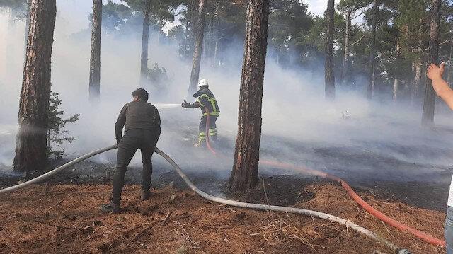 Yaktığı ateş yanlışlıkla ormana sıçradı 155 bin TL ceza aldı