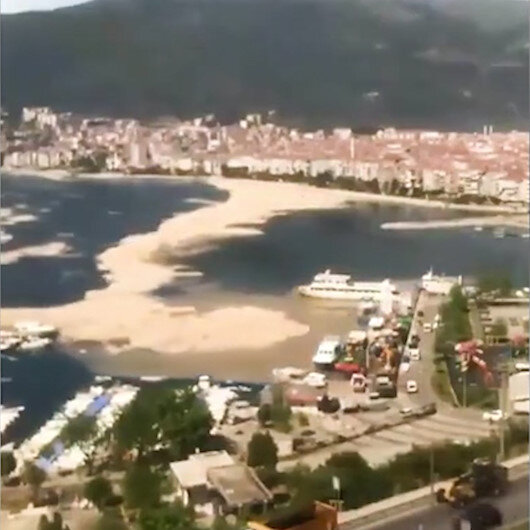 Müsilaj Marmara Denizini böyle böyle kapladı
