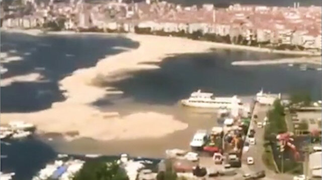 Müsilaj Marmara Denizi'ni böyle böyle kapladı