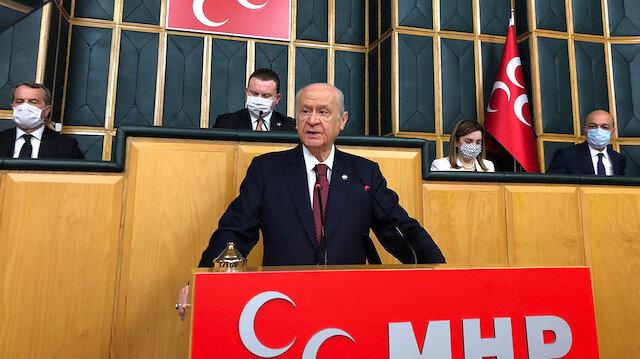 Devlet Bahçeli'den kalkışma çağrısı yapan Ahmet Şık'a: Türkiye Cumhuriyeti katil olsaydı bugün bulunduğun yer TBMM değil mezarlık olurdu