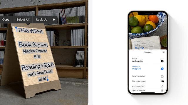 iOS 15 yeni artırılmış gerçeklik özellikleriyle güncelleniyor