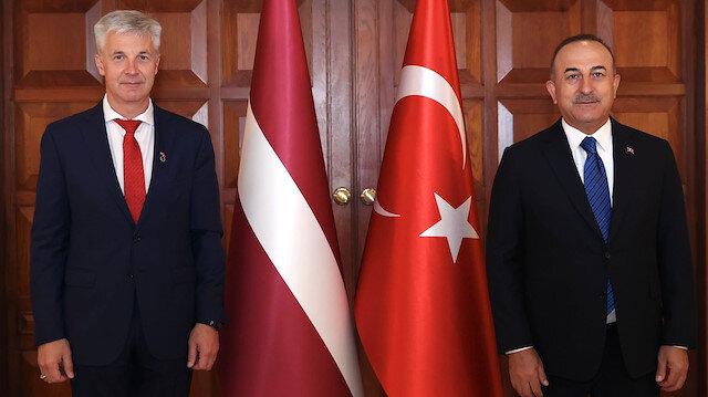 Bakan Çavuşoğlu: Letonya İHA'larımıza ilgi gösteren ikinci NATO müttefikimiz
