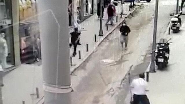 Şişli'de hareketli anlar: Polis soyguncuyu böyle yakaladı
