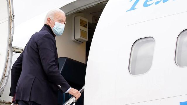 ABD Başkanı Biden bir hafta sürecek ilk yurt dışı ziyareti için yola çıktı