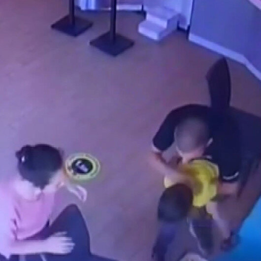 Nefes borusuna yiyecek kaçan bebek böyle kurtarıldı