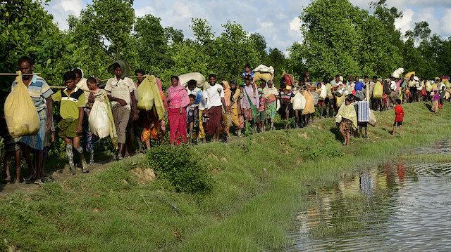 Myanmar'da çatışmalar 100 bin kişiyi evinden etti: Acil yiyecek ve su ihtiyacı var!