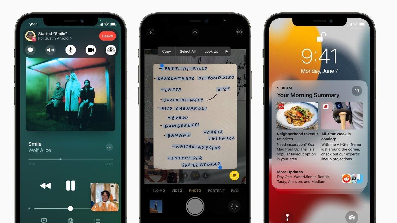 Apple, kullanıcıları iOS 14'ten iOS 15'e güncellemeleri konusunda zorlamayacak.