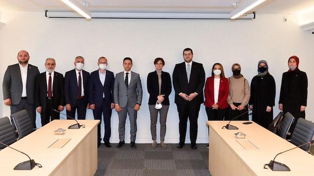 CHP'den Saadet Partisi'ne 'ittifakta kal' ziyareti