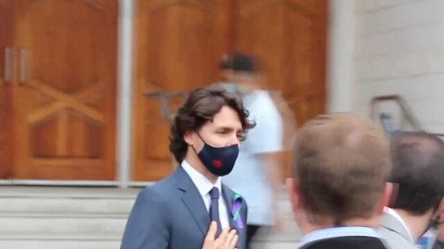 Kanada Başbakanı Trudeau, terör saldırısında hayatını kaybeden aile için düzenlenen törene katıldı