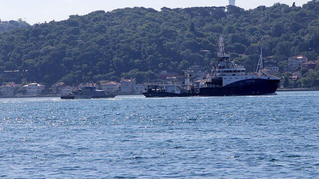 Rus ve Hollanda savaş gemileri boğaz girişinde karşılaştı