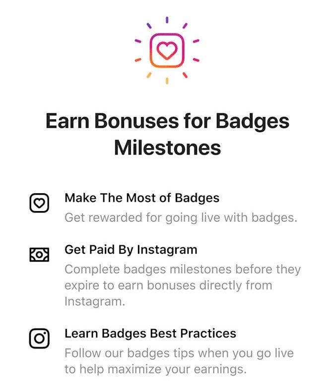 Instagram, yeni rozet ve bonus sistemiyle birlikte içerik oluşturucuların ek gelir elde etmesini sağlıyor.