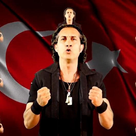 Kıraçın A Milli Takım için yaptığı şarkıda Mehmetçik benzetmesi tartışmaları beraberinde getirdi