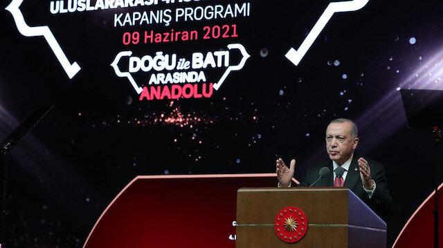 Cumhurbaşkanı Erdoğan: Cengiz Aytmatov'u ortak değerimiz