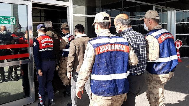 Adıyaman'da jandarma ve emniyetten PKK'ya ortak operasyon