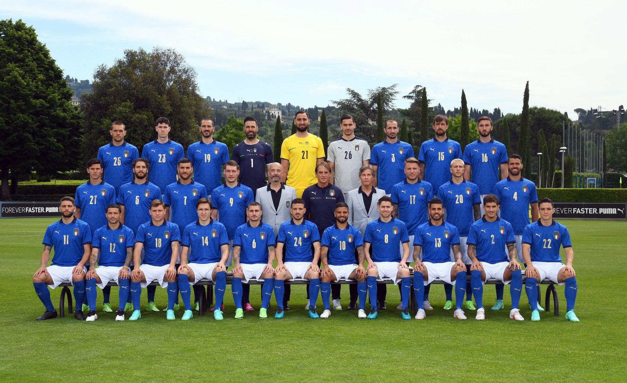 İtalya Milli Takımı'nın EURO 2020 kadrosu