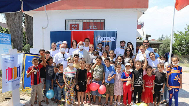 Akdeniz'de 'Mülteciler ile Sosyal  Uyum Projesi' Buluşması