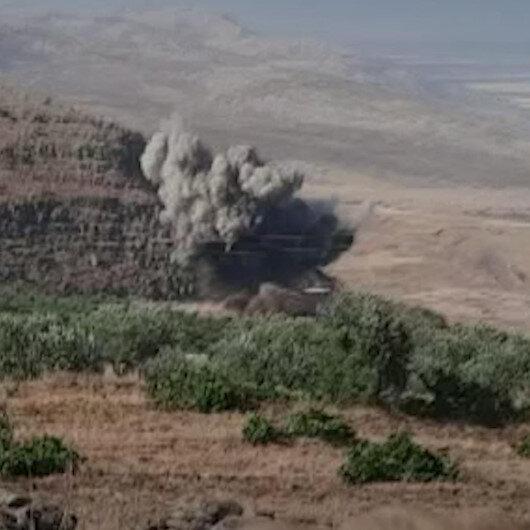 Esad rejimi İdlib kırsalına karadan ve havadan saldırı düzenledi: 7 ölü