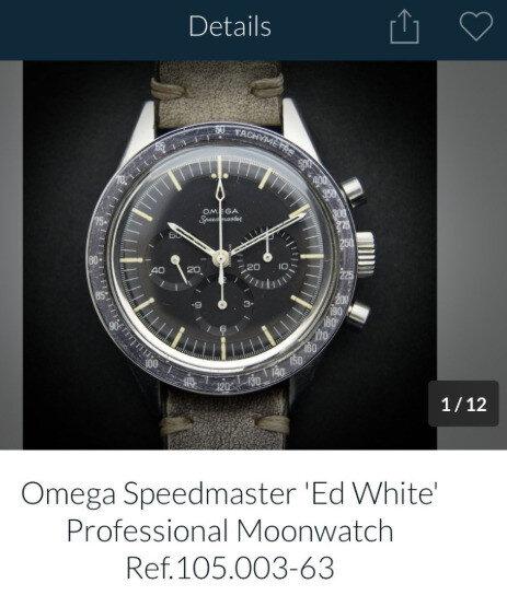 Omega Speedmaster serisi saat.