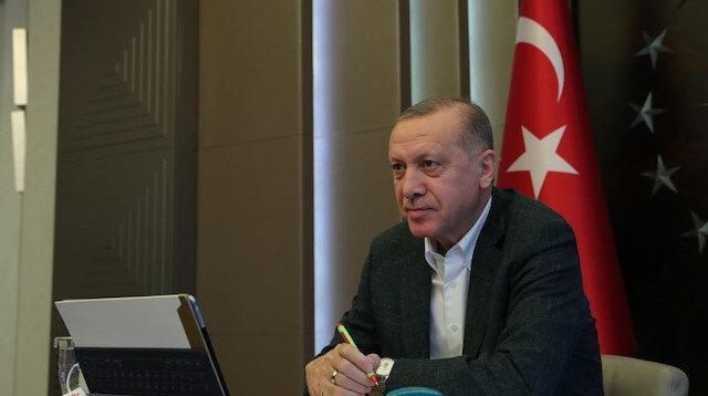 Cumhurbaşkanı Erdoğan Türk Kızılay'ın kuruluş yıl dönümünü kutladı: İftihar ediyoruz