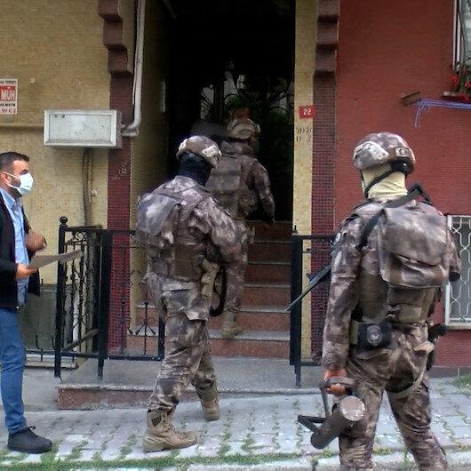 İstanbul merkezli 4 ilde Nuriş Kardeşler suç örgütüne operasyon